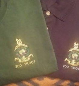military clothing embroidery