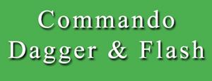 Commando Dagger & flash